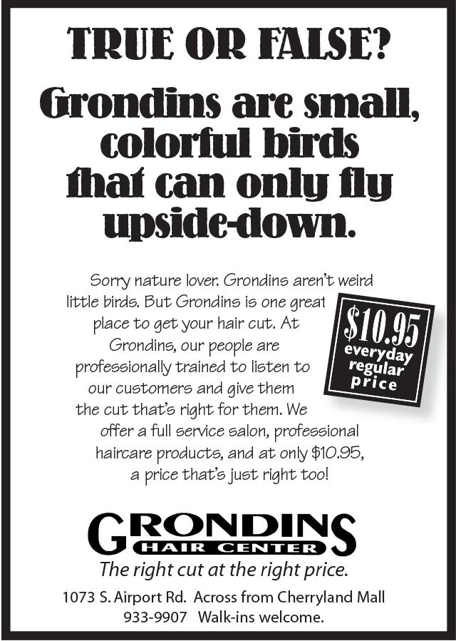 Grondins Advertising
