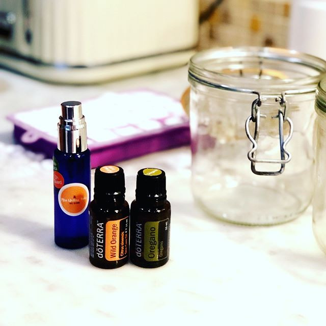 dōTERRA essential oils in cleaning products