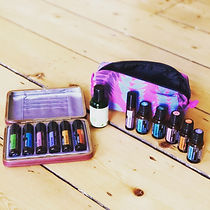 a selection of essential oils