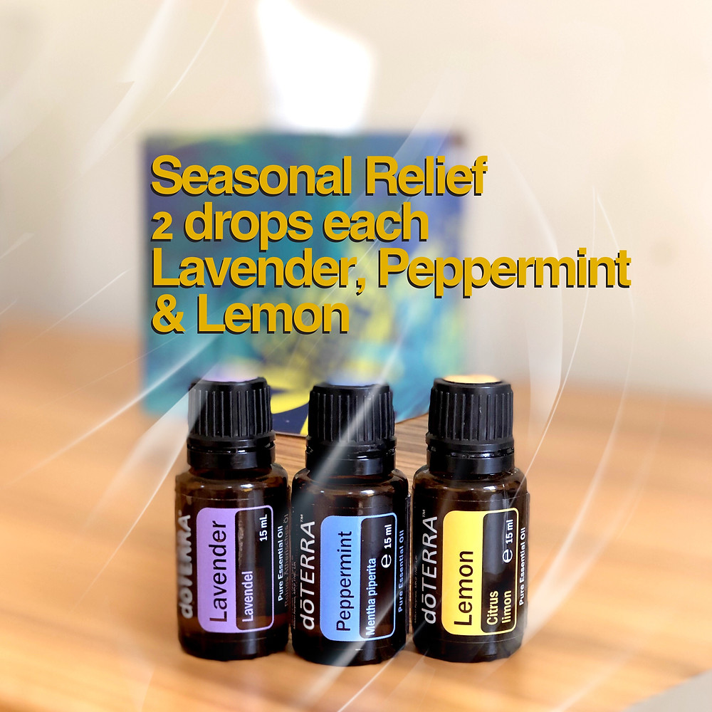 Lavender, Peppermint and Lemon Oil