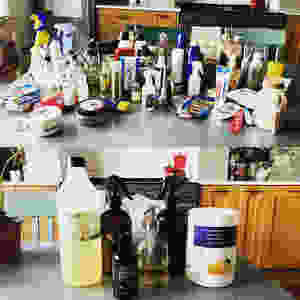 toxic and natural cleaning products