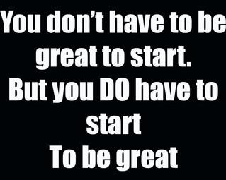 Starting point.