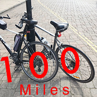22.14 miles... to 100.