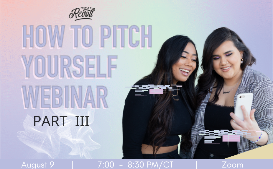 How To Pitch Yourself Part 3