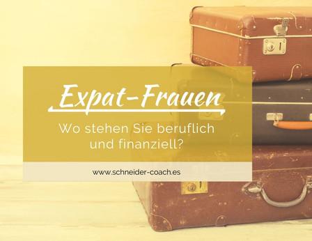 Das Leben als Expat-Frau? Denken Sie auch an sich?!