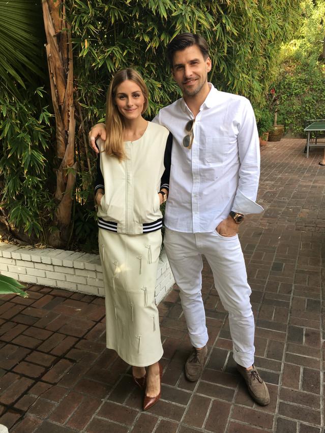 Fashion faves Olivia Palermo & Johannes Huebl