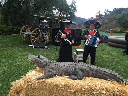 Arnold's fave, mariachi, and croco