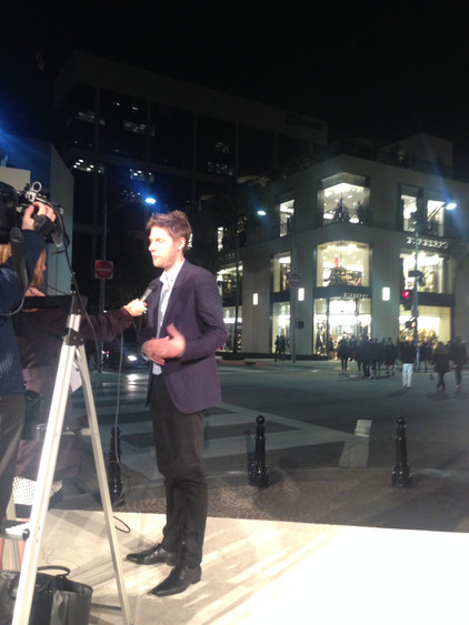 Burberry CCO Chris Bailey interview on Rodeo Dr.