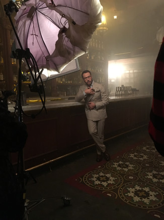 Jeremy Piven shoot