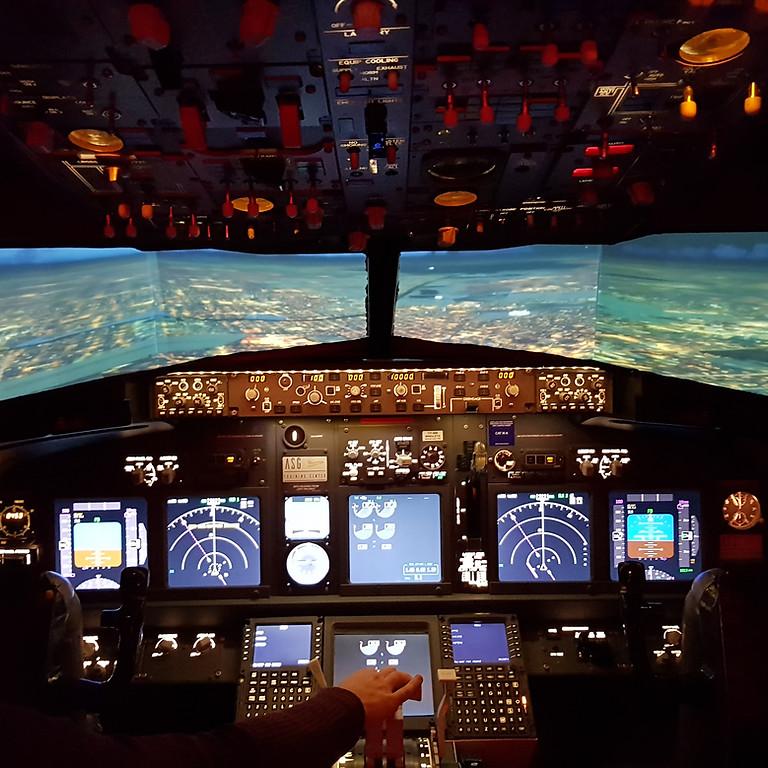 Experiencia Simulador B737 - 800 NG