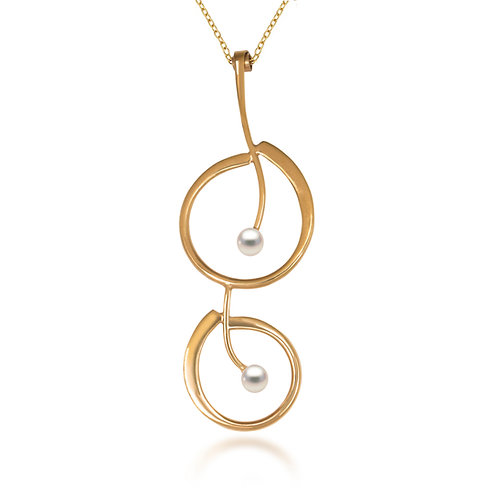 Melody Gold Pendant
