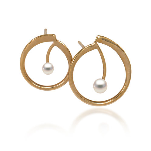 Melody Gold Plated Earrings
