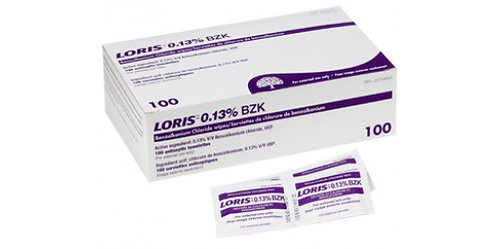 Tampons antiseptiques Benzalkonium