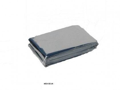 Couverture isothermique en aluminium