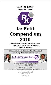 Petit compendium 2019