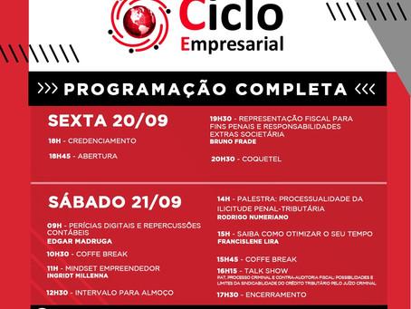 Cabral Associados debaterá PAT, Processo Criminal e Contra-Auditoria Fiscal no 8º Ciclo Empresarial