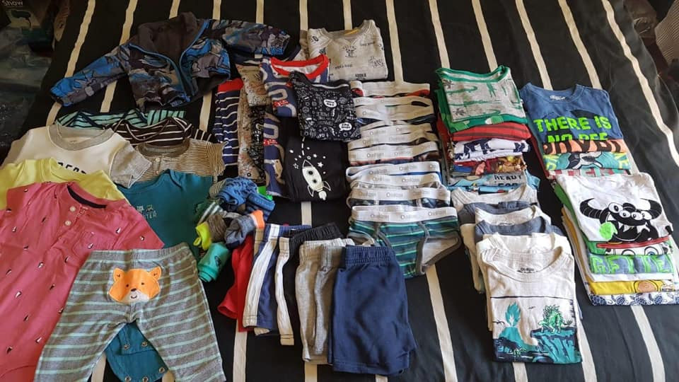 Donación de ropas
