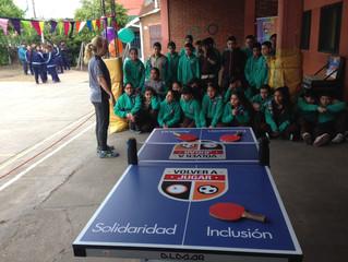 Se fue la séptima Mesa de ping pong!!