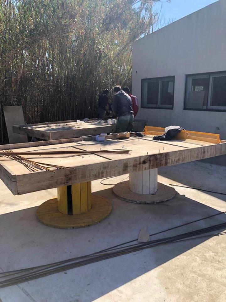 Bases de las mesas