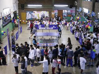 Se fue la sexta mesa de ping pong