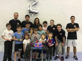 Nuestra escuela de squash cumplió dos años!!