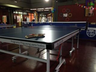 Quinta entrega del Programa Ping Pong para todos.