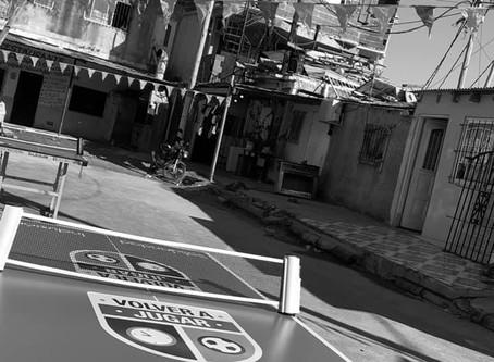 Ping pong + metegoles Barrio Rodrigo Bueno