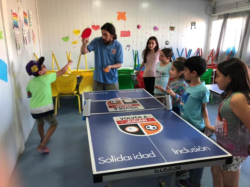 Taller de ping pong