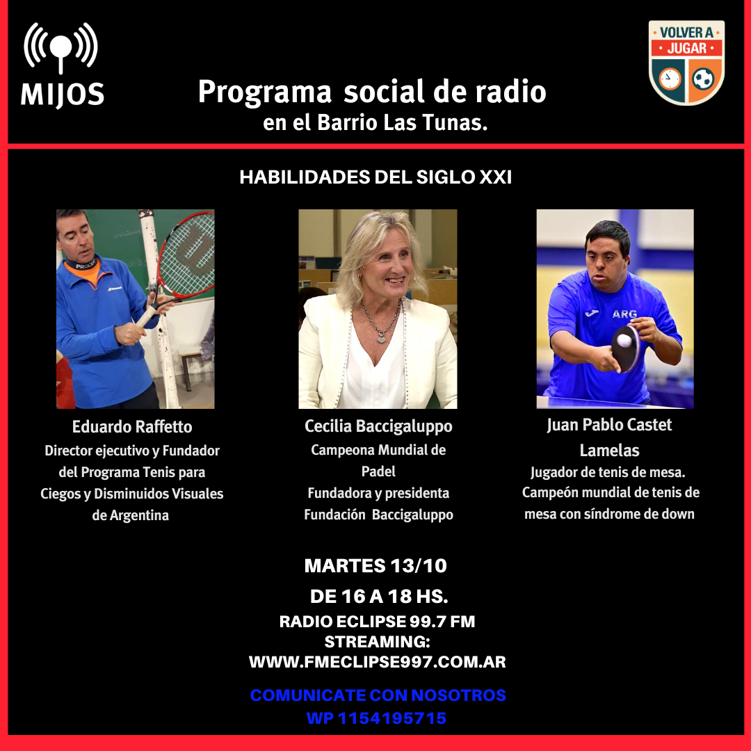 5to Programa MIJOS 13 Oct