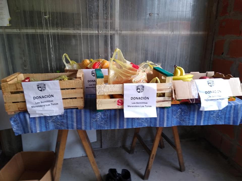 Campaña de donación de alimentos Barrio Las Tunas
