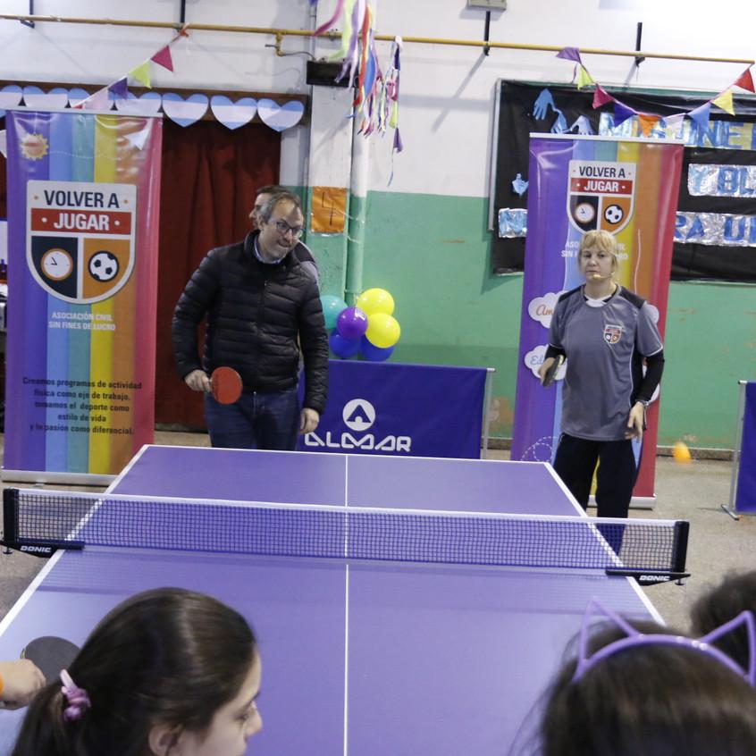 Programa ping pong para todos