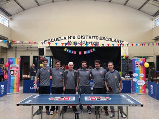 Ping pong en la Escuela pública 6 de 10.