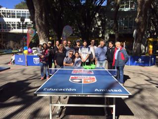 Torneo Social y Solidario de Ping Pong.