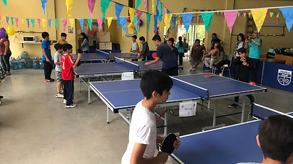 Torneo social realizado en el colegio Maria de Guadalupe en el barrio Las Tunas, Pacheco