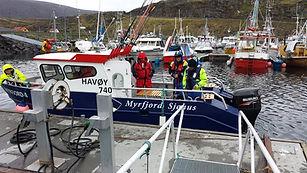 Skreifiske i Havøysund