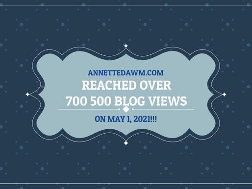 Celebrating 700 000 Views!!!