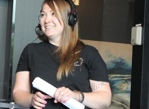 Broadcasting with Lynzee Barnett