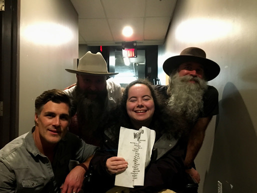 After the Show: Jason Benoit and The Washboard Union