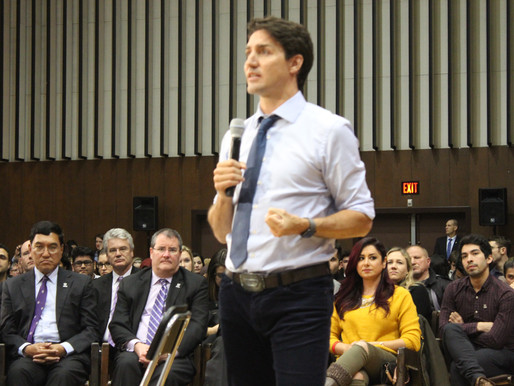 An Evening with Prime Minister Justin Trudeau
