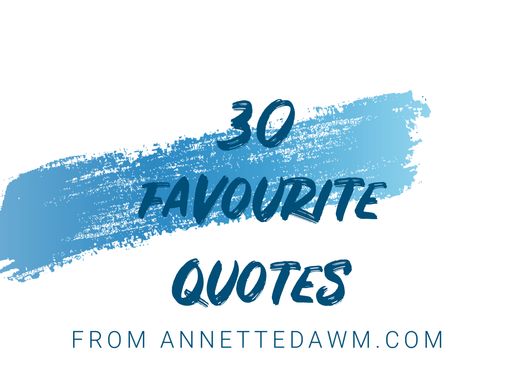 30 Favourite Quotes for My 30th Birthday