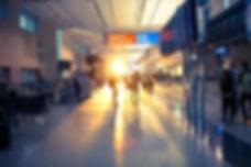 空港内の風景