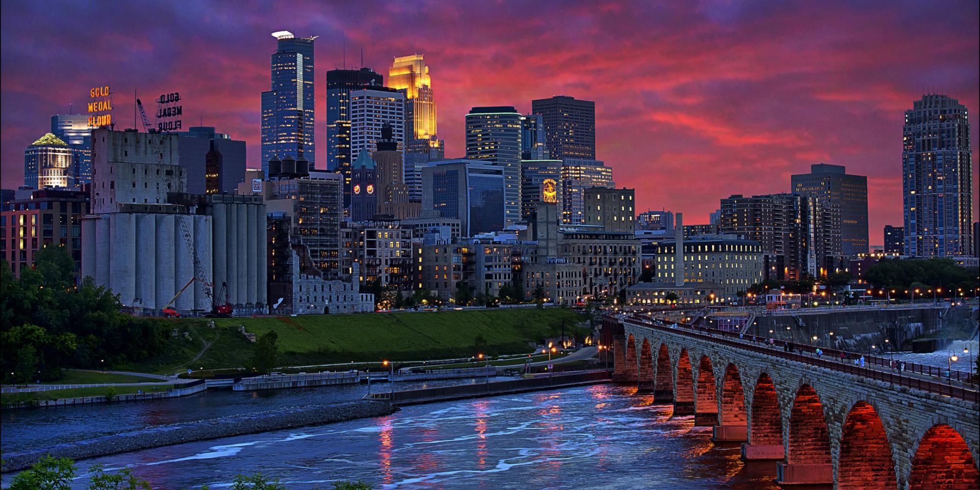 Minneapolis, Yellowstone & rockies