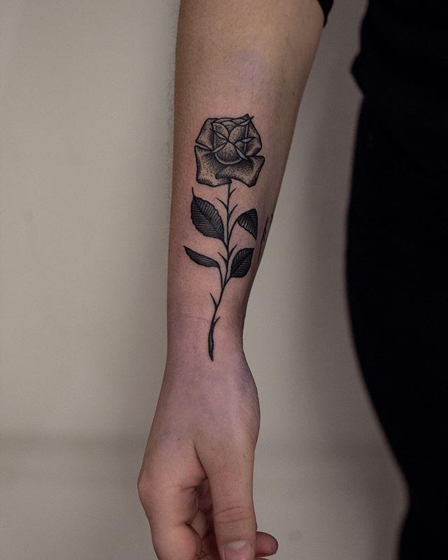 R O S E ✨__Soft rose petals and sharp th