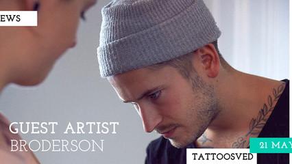 GUEST ARTIST BRODERSON
