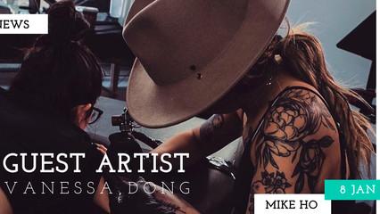 GUEST ARTIST VANESSA DONG