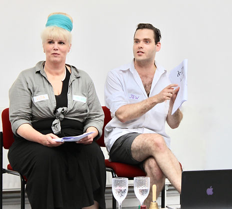 Gur Arie Piepskovitz and Lara Buffard taken by Ilka Theurich