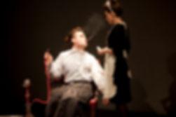 Gur Arie Piepskovitz and Maya Goldstein taken by Ludo Des Cognets