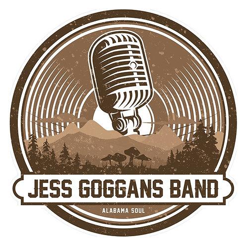 JGB Mic Sticker