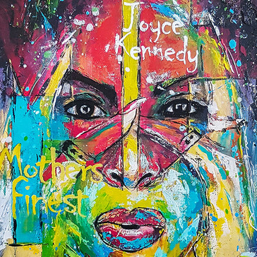 Joyce Kennedy painting by Jimmy's Drawings
