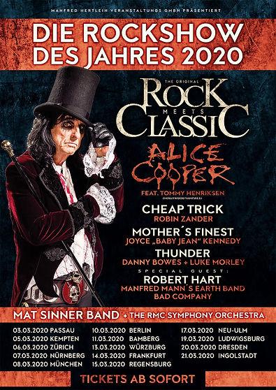 Rock Meets Classic 2020 Poster